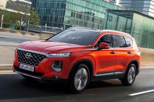 Hyundai SantaFe 2019 sẽ có thêm tính năng cảm biến vân tay