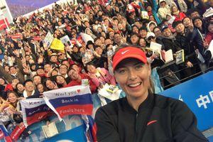 Sharapova rạng ngời sau chiến thắng khởi đầu mùa giải mới