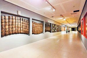 Không gian nghệ thuật đương đại dưới hầm Nhà Quốc hội