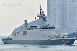 Khu trục hạm Thái Lan ghé thăm Hong Kong trên đường trở về nhà