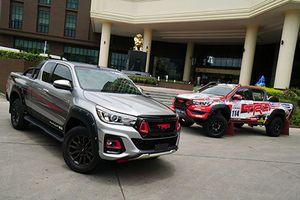 Toyota Hilux Black Rally Edition mới hầm hố hơn cả bản TRD