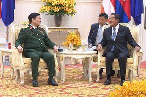 Việt Nam tài trợ 10 triệu USD cho Bộ Quốc phòng Campuchia