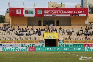 Đội Hồng Lĩnh Hà Tĩnh sẽ mượn sân Vinh làm sân nhà ở đầu mùa giải 2019