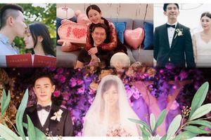 Bỏ qua mây đen scandal tình ái chia ly, năm 2018 vẫn hồng tươi sáng với đám cưới của các sao Hoa ngữ này