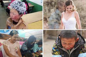 Những câu chuyện cảm động năm 2018: Bé trai gào khóc xin vào trại trẻ mồ côi, cô gái ôm tro cốt bạn trai chụp ảnh cưới