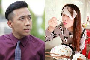 Trấn Thành khóc ròng khi chứng kiến cảnh Hari Won ăn uống bất chấp, mồ hôi nhễ nhại