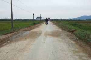 Hậu Lộc - Thanh Hóa: 'Áo mới'' cho con đường xuống cấp nghiêm trọng