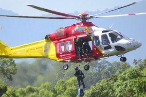 Trực thăng cứu hộ bị rơi ở UAE khiến 4 người thiệt mạng