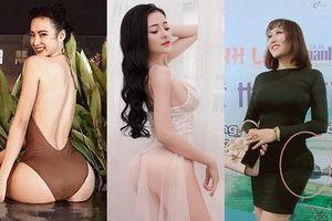 Những mỹ nhân có vòng 3 ồn ào nhất showbiz Việt năm 2018