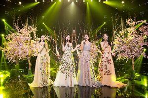 Hoa hậu Tiểu Vy cùng các người đẹp cất tiếng hát chào đón năm mới