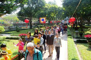 Khách du lịch đến Hà Nội dịp Tết Dương lịch 2019 tăng 10,6%