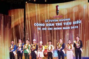TP Hồ Chí Minh vinh danh 9 công dân trẻ tiêu biểu