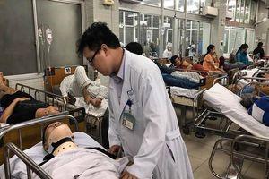 Tình trạng 13 nạn nhân vụ tai nạn Long An ở BV Chợ Rẫy