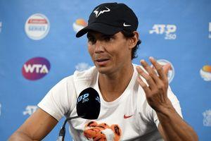 Nadal rút lui khỏi giải đấu đầu năm vì chấn thương