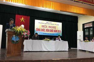 CĐ Đại học Dược Hà Nội phối hợp tổ chức hội nghị cán bộ, NLĐ
