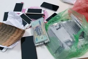 Trộm đột nhập cửa hàng điện thoại, lấy tài sản trị giá gần nửa tỉ