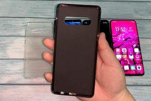 Rò rỉ video cho thấy kích thước thật của Galaxy S10+ khi so với Galaxy S9+, Note9 và OPPO Find X