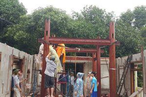 Đà Nẵng: 'Biệt phủ' của ông Ngô Văn Quang đã tháo dỡ xong phần vi phạm