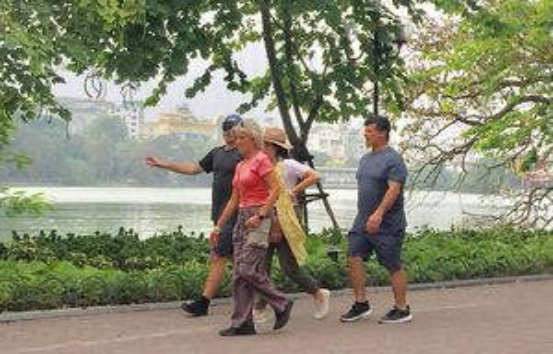 Khách du lịch đến Hà Nội tăng mạnh trong dịp Tết Dương lịch