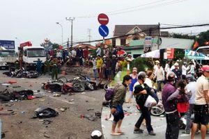 Danh tính tài xế xe container gây tai nạn khiến nhiều người thương vong ở Long An