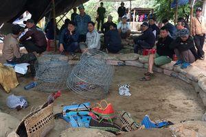 Triệt xóa trường đá gà quy mô lớn tại vùng giáp ranh Đà Nẵng - Quảng Nam