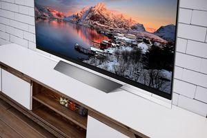 TV siêu mỏng - tâm điểm của các phòng khách dịp tết