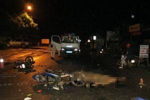 Xe máy tông nhau kinh hoàng, hai người tử vong tại chỗ