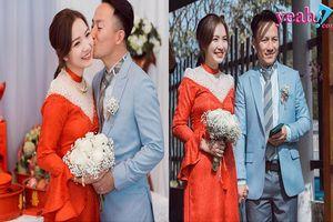 Sau kết hôn, bà xã Tiến Đạt đã 'tự tin' khoe ảnh vợ chồng hạnh phúc trên trang cá nhân