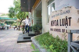 Phương án tuyển sinh khoa Luật, Đại học Quốc gia Hà Nội 2019