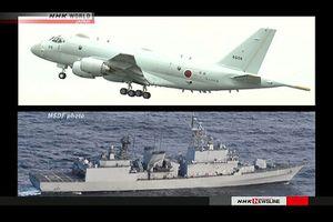 Hàn Quốc công bố video vụ 'khóa chết' máy bay Nhật