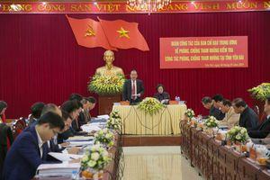 Trung ương kiểm tra công tác phòng chống tham nhũng tại Yên Bái
