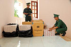 Bộ đội Biên phòng tỉnh An Giang bắt giữ 3.750 gói thuốc lá ngoại nhập lậu