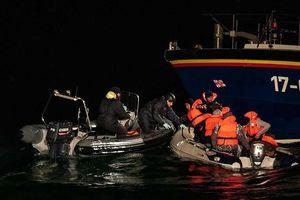 Gia tăng người di cư qua eo biển Manche
