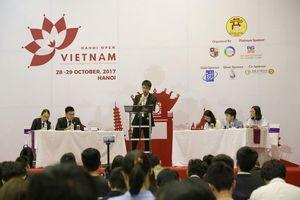 Hơn 30 trường tham gia vô địch tranh biện Hà Nội mở rộng lần 2