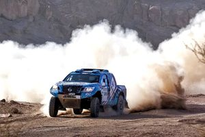 'Uốn lượn' đường đua xe quốc tế 1.727km trên hoang mạc