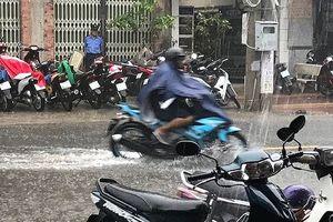 Ảnh hưởng bão số 1: Sóng đánh trôi bè, mưa nhiều nơi ở Cà Mau
