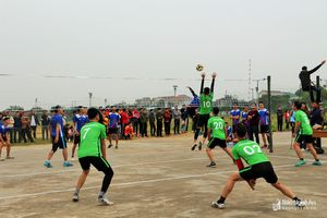 Khai mạc Giải bóng chuyền truyền thống học sinh, sinh viên tỉnh Nghệ An năm 2019