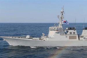 Hải quân Hàn Quốc tiến hành cuộc tập trận đầu tiên trong năm mới