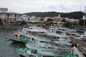 Kiên Giang bỏ lệnh cấm biển, tàu thuyền hoạt động trở lại từ 16 giờ ngày 4/1