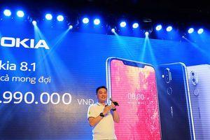 Nokia 8.1 chính thức bán ra tại Việt Nam với mức giá 8 triệu đồng