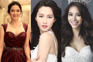 Giật mình nhan sắc của các Hoa hậu Việt sau khi tẩy trang