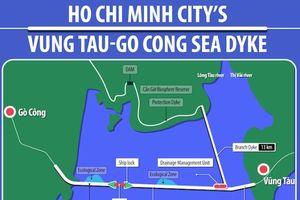Siêu đê biển Gò Công - Vũng Tàu: UBND TP.HCM không có ý kiến gì khác năm 2012
