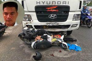 Tạm giữ tài xế container gây tai nạn khiến 4 người chết ở Long An
