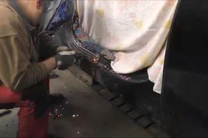 Video thợ máy người Nga 'hồi sinh' chiếc BMW X5