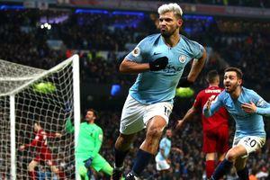 Aguero lần thứ 7 chọc thủng lưới Liverpool: Xứng danh ngôi sao trận cầu lớn