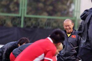 Thầy trò Park Hang-seo tập trung cho trận quyết định với Iraq