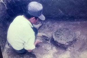 Công nhận mộ táng chum gỗ trống đồng là bảo vật quốc gia
