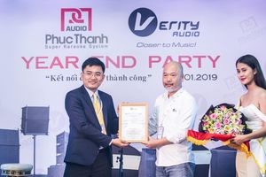 Phúc Thanh Audio phân phối độc quyền thương hiệu loa Verity Audio (Pháp) tại Việt Nam