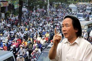 TS. Nguyễn Xuân Thủy: Hạn chế xe máy theo lộ trình tích cực thì nên làm