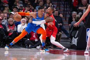 George và Westbrook 'song kiếm hợp bích' giúp Thấn sấm thị uy sức mạnh trước Blazers